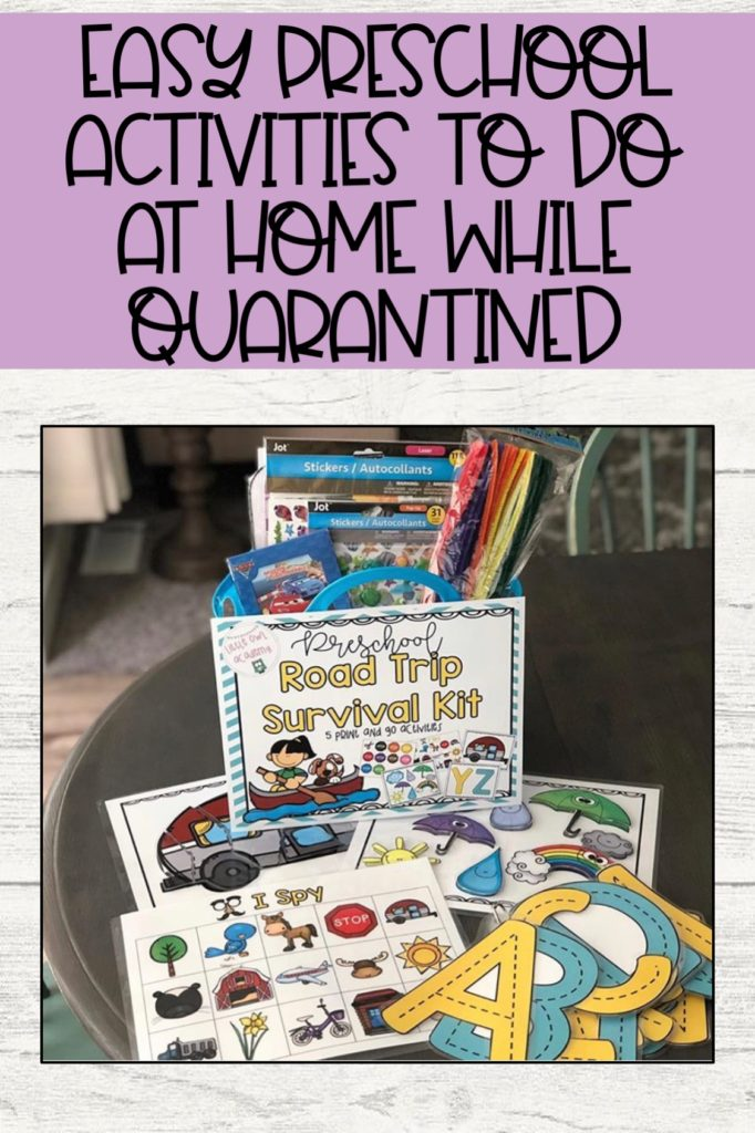 Easy Preschool Activities To Do At Home While Quarantined ...